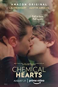 Austin Abrams and Lili Reinhart in Chemical Hearts (2020)