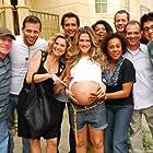 Flávia Alessandra, Henri Castelli, Thalma de Freitas, Dhu Moraes, Ingrid Guimarães, Marcos Pasquim, and Malvino Salvador in Caras & Bocas (2009)