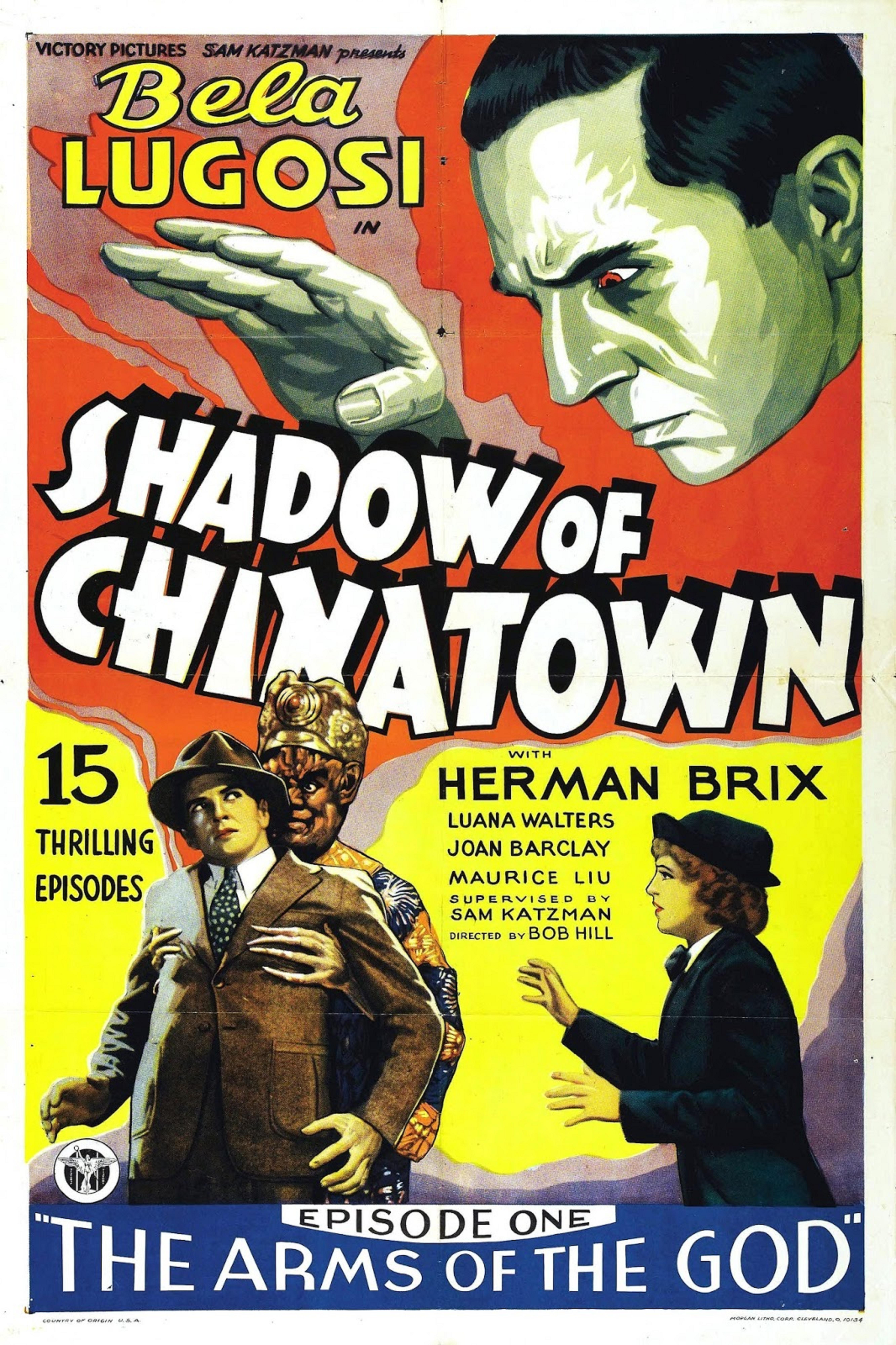 Bela Lugosi, Joan Barclay, and Bruce Bennett in Shadow of Chinatown (1936)