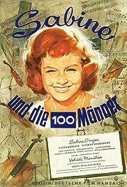 Sabine und die hundert Männer Poster