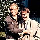 Troy Donahue and Dennis Falt in Hyôryu kyôshitsu (1987)