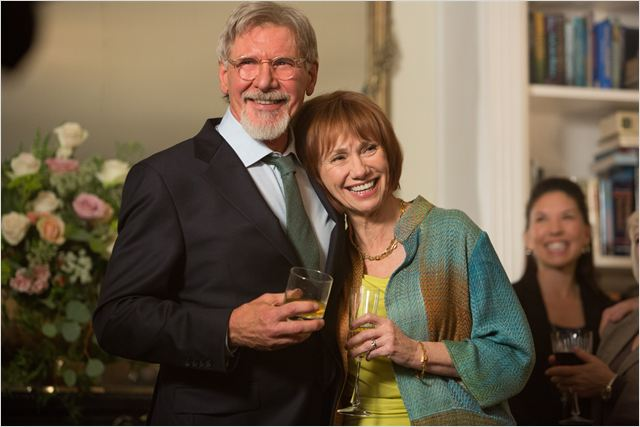 Harrison Ford and Kathy Baker in The Age of Adaline (2015)