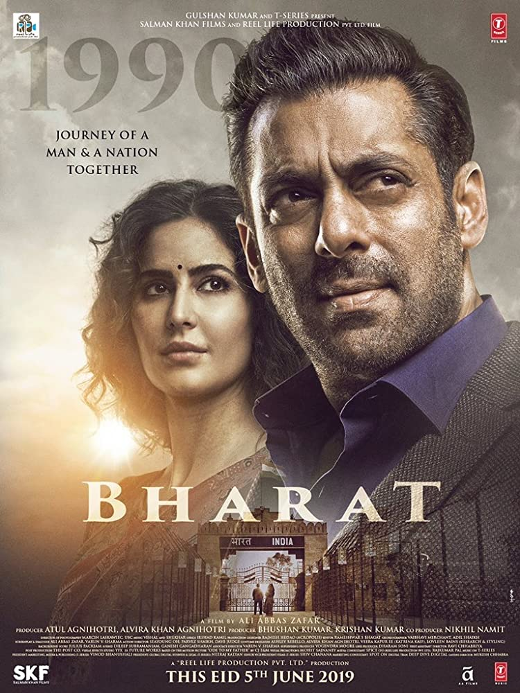 Bharat (2019) Hindi NEW 480p  DVDSCR x264 Audio Cleaned 500MB