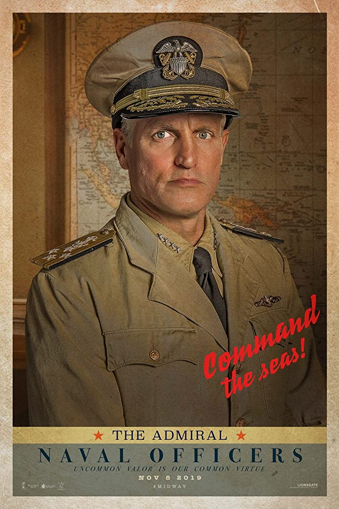 Woody Harrelson in Midway (2019)
