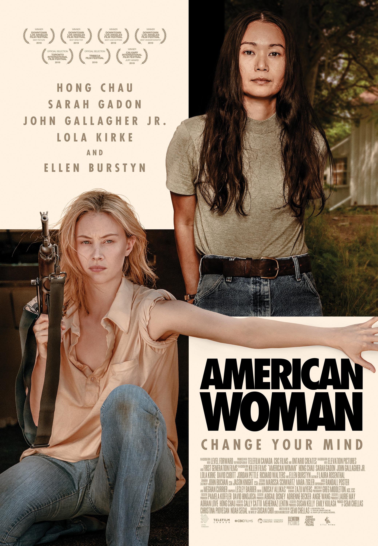 Sarah Gadon and Hong Chau in American Woman (2019)