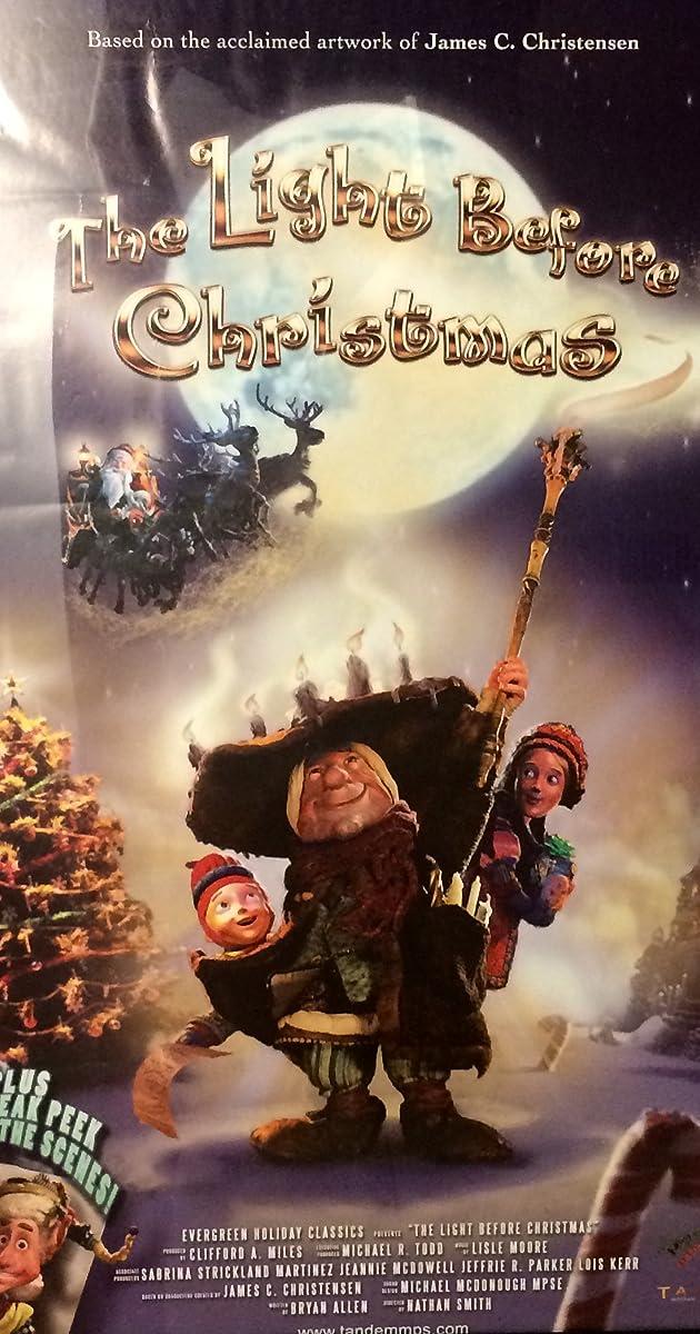 - The Light Before Christmas (TV Movie 2007) - IMDb