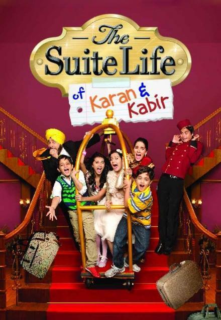 Daman Baggan, Shruti Seth, Siddharth Thakkar, Tara Sutaria, Namit Shah, Shivshakti Sachdev, and Shaynam Ladakhi in The Suite Life of Karan & Kabir (2012)
