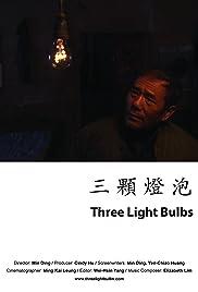 Three Light Bulbs Poster