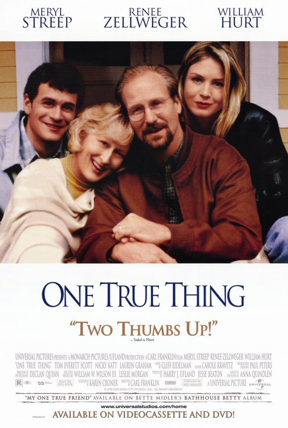 Renée Zellweger, William Hurt, Meryl Streep, and Tom Everett Scott in One True Thing (1998)