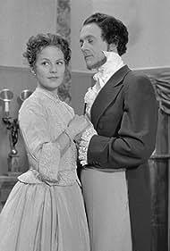 Bendt Rothe and Astrid Villaume in En caprice (1955)