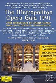 The Metropolitan Opera Silver Anniversary Gala Poster