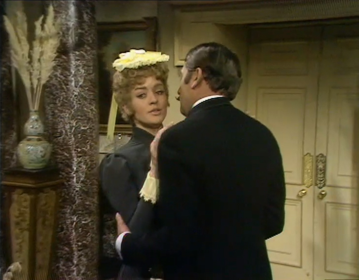James Beck and Diana Chappell in Sherlock Holmes (1964)