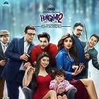 Johnny Lever, Ashutosh Rana, Paresh Rawal, Shilpa Shetty Kundra, Rajpal Yadav, Meezaan Jafri, and Pranitha in Hungama 2 (2021)