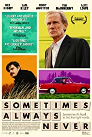 Bill Nighy and Sam Riley in Sometimes Always Never (2018)