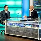 Patrick Stewart and Fred Armisen in Blunt Talk (2015)