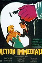 Action immédiate Poster