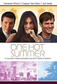 Vanessa Marcil, Casper Van Dien, and Jon Seda in One Hot Summer (2009)