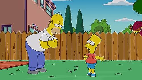 The Simpsons: Homer Gets Jealous Of Matt Leinart