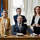 Javier Cámara, María Pujalte, Nuria Mencía, and Adam Jezierski in Vota Juan (2019)