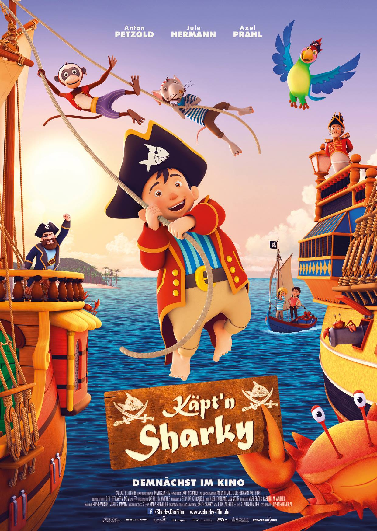 Captn Sharky 2018 Imdb