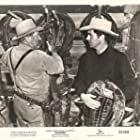 Tyrone Power and Edgar Buchanan in Rawhide (1951)