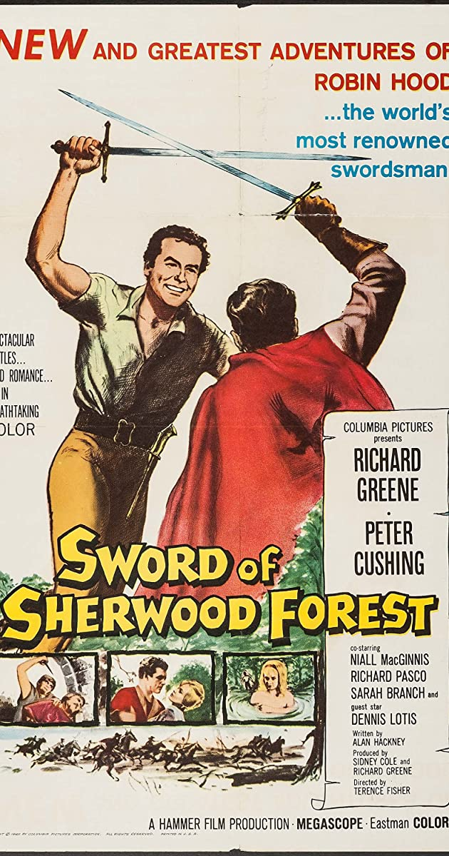 Subtitle of Sword of Sherwood Forest