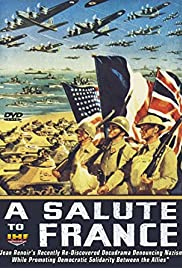Salute to France Poster