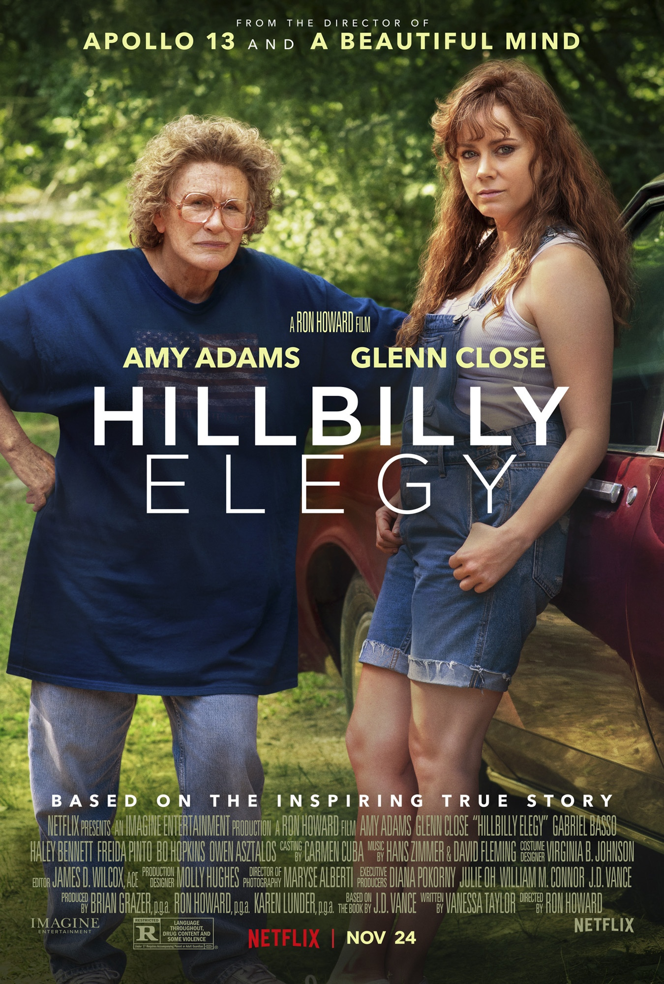Hillbilly Elegy 2020 Hindi ORG Dual Audio 420MB NF HDRip ESubs Download