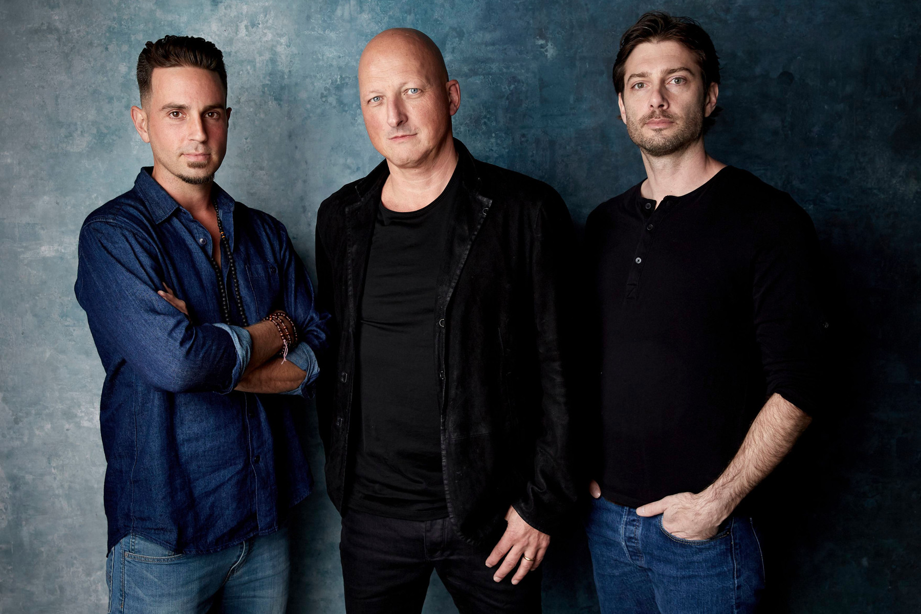 Dan Reed, Wade Robson, and Jimmy Safechuck in Leaving Neverland: The Aftermath (2019)