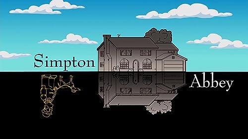 The Simpsons: Simpton Abbey Gag