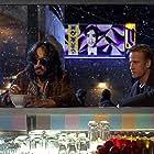Christopher Lambert and Sergio Rubini in Nirvana (1997)