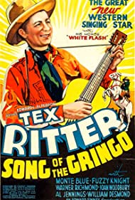 Tex Ritter and White Flash in Song of the Gringo (1936)