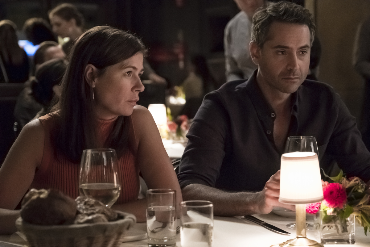 Maura Tierney and Omar Metwally in The Affair (2014)