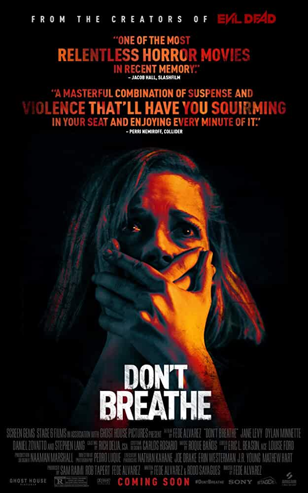 Don't Breathe | 2016 | Hindi + English | 1080p | 720p | WEBRip