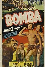 Peggy Ann Garner, Johnny Sheffield, and Oto in Bomba: The Jungle Boy (1949)