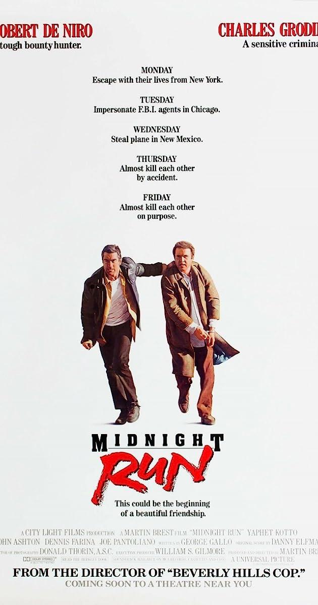 Midnight Run (1988) Subtitles