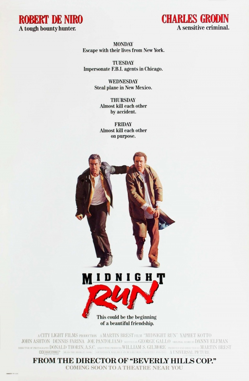 Midnight Run (1988) BluRay 480p, 720p & 1080p