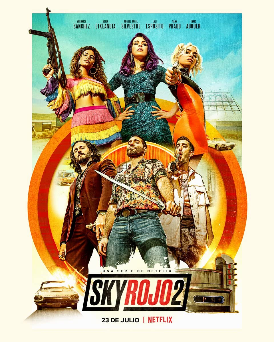 Sky Rojo (2021) Season 2 Hindi Dubbed (Netflix)