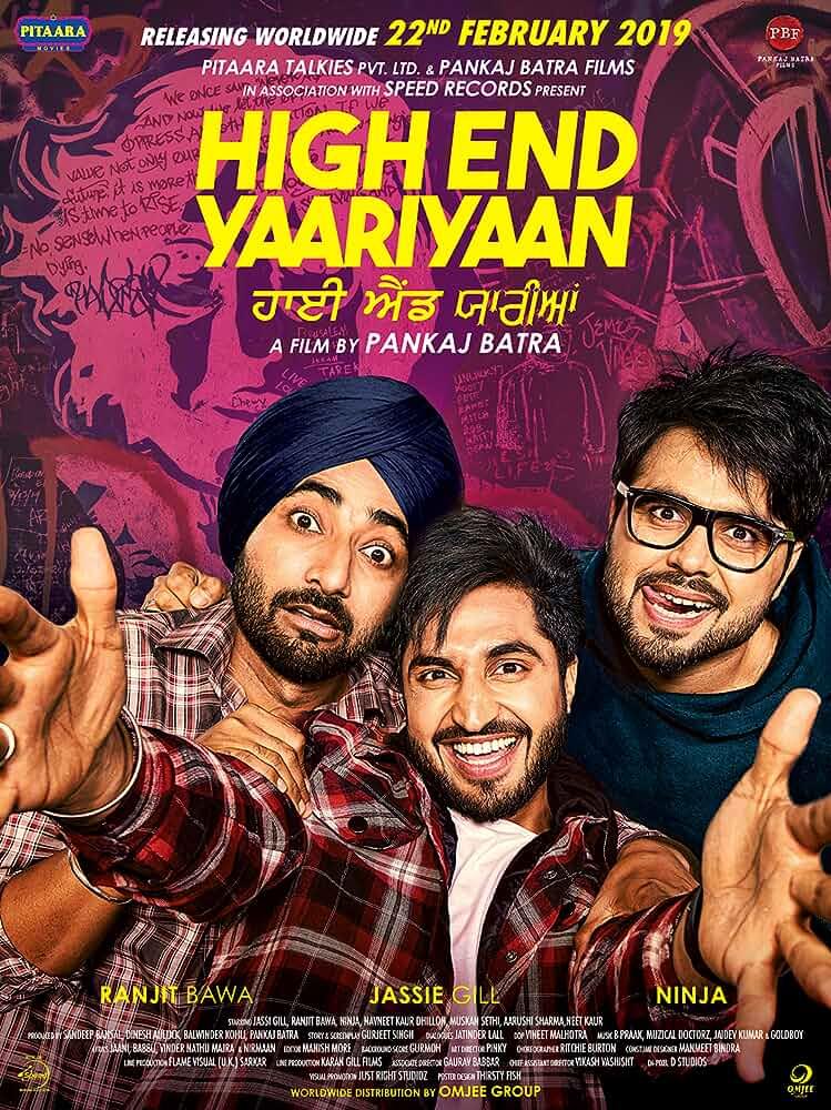 High End Yaariyan (2019) Punjabi 1080p | 720p | 480p WEB-DL x264 AAC