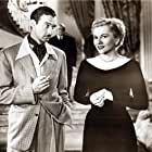 Joan Fontaine, Zachary Scott, and Harold Vermilyea in Born to Be Bad (1950)