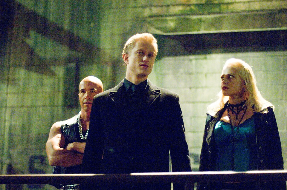 Jessica Gower and Neil Jackson in Blade: The Series (2006)