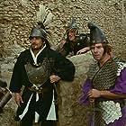 Vittorio Gassman, Gian Maria Volontè, Gianluigi Crescenzi, and Ugo Fangareggi in L'armata Brancaleone (1966)