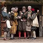 Fergal McElherron, Edward Peel, Pearce Quigley, Tom Lawrence, Huss Garbiya, and Steffan Donnelly in Shakespeare's Globe: A Midsummer Night's Dream (2014)