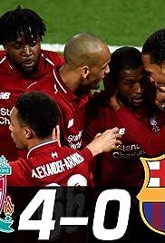 Liverpool vs. Barcelona Poster