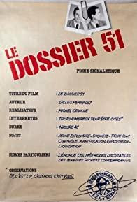 Primary photo for Dossier 51