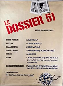 Good quality movie downloads free Le dossier 51 [720x1280]