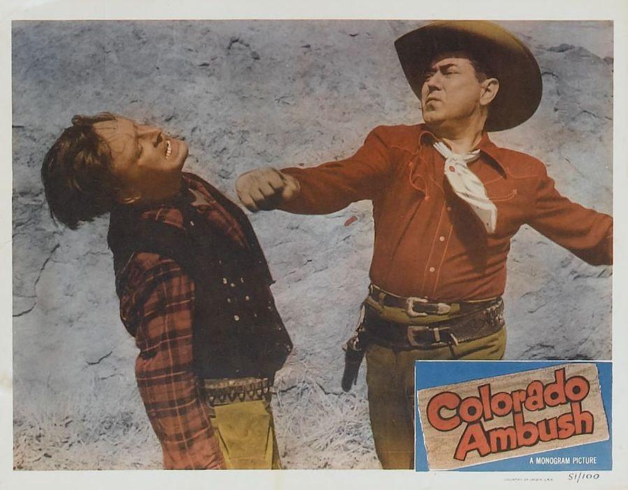 Johnny Mack Brown and Lee Roberts in Colorado Ambush (1951)