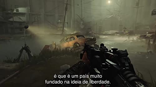 Wolfenstein II: The New Colossus: Talking Heads Story Trailer (Portuguese Subtitled)