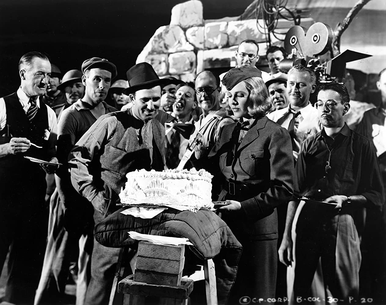 Jean Arthur, Sidney Buchman, Joseph Krumgold, Edward Ludwig, and Harry Sauber in Adventure in Manhattan (1936)