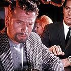 George Nader and Heinz Reincke in Der Mörderclub von Brooklyn (1967)